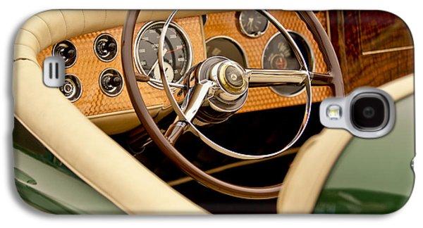 1952 Sterling Gladwin Maverick Sportster Steering Wheel Galaxy S4 Case by Jill Reger