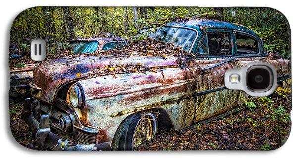 1953 Chevy Galaxy S4 Case by Debra and Dave Vanderlaan