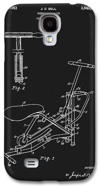 1953 Exercise Apparatus Patent Galaxy S4 Case