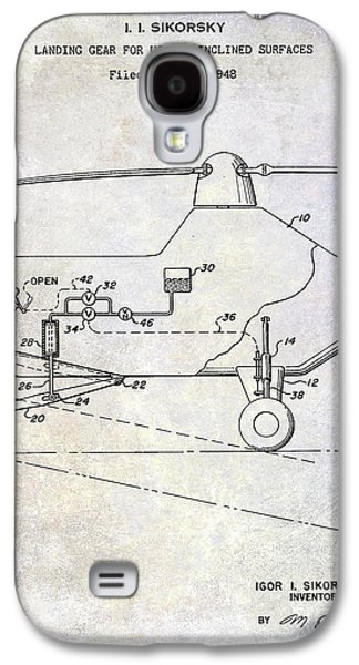 1953 Helicopter Patent Galaxy S4 Case