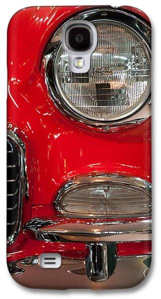 1955 Chevy Bel Air Headlight Galaxy S4 Case by Sebastian Musial