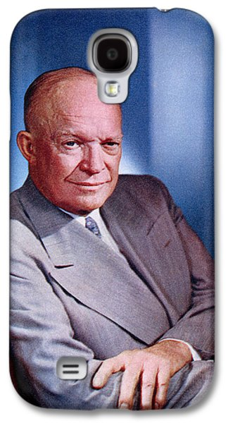 1955 President Dwight D Eisenhower Galaxy S4 Case by Historic Image