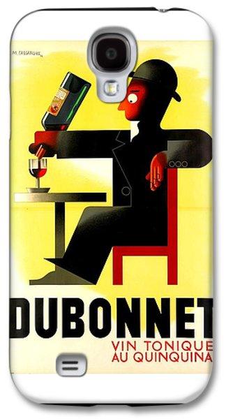 1956 Dubonnet Poster By Adolphe Mouron Cassandre Galaxy S4 Case