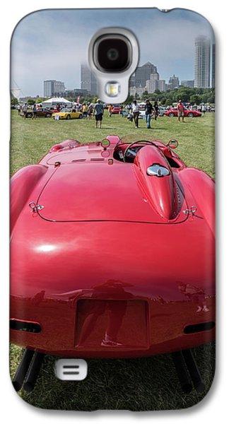 Galaxy S4 Case featuring the photograph 1956 Ferrari 290mm - 2 by Randy Scherkenbach