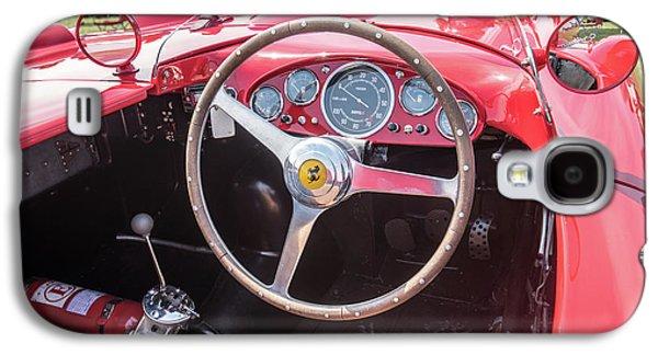 Galaxy S4 Case featuring the photograph 1956 Ferrari 290mm - 4 by Randy Scherkenbach