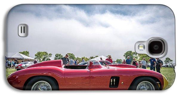 Galaxy S4 Case featuring the photograph 1956 Ferrari 290mm by Randy Scherkenbach