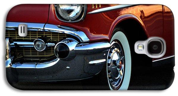 1957 Chevrolet  Galaxy S4 Case by Lesa Fine