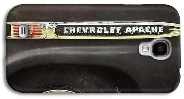 Truck Galaxy S4 Case - 1959 Chevy Apache by Scott Norris