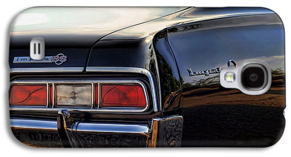Art Mobile Galaxy S4 Cases - 1967 Chevy Impala SS Galaxy S4 Case by Gordon Dean II