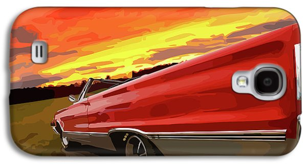 1967 Plymouth Satellite Convertible Galaxy S4 Case by Gordon Dean II