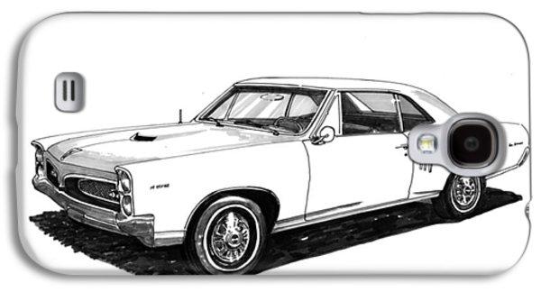 1967 Pontiac G T O Galaxy S4 Case by Jack Pumphrey