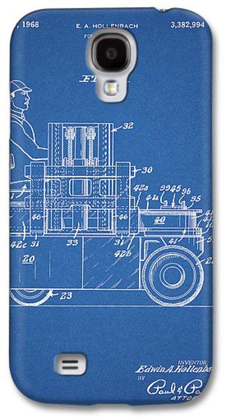 1968 Lift Truck Patent Galaxy S4 Case