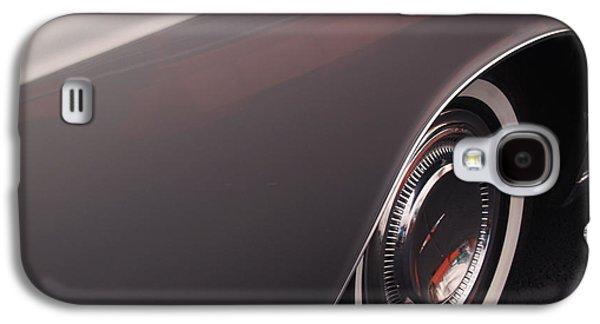 1968 Vintage Lincoln Sedan Fender Galaxy S4 Case by Anna Lisa Yoder