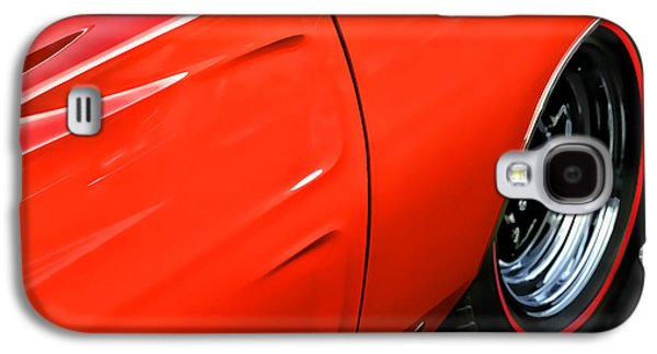1969 Dodge Charger Stock Car Galaxy S4 Cases - 1969 Dodge Charger RT Galaxy S4 Case by Gordon Dean II
