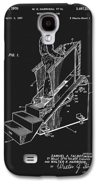1970 Exercise Machine Patent Galaxy S4 Case