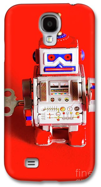 1970s Wind Up Dancing Robot Galaxy S4 Case by Jorgo Photography - Wall Art Gallery