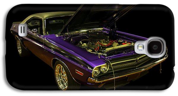 1971 Dodge Challenger Galaxy S4 Case by Chris Flees