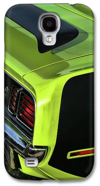 1971 Plymouth Hemicuda Hemi Cuda Barracuda Galaxy S4 Case by Gordon Dean II