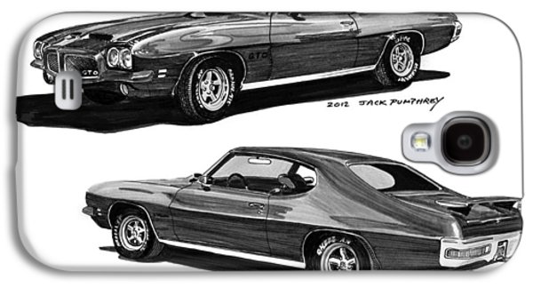1971 Pontiac G T O Coming And Goin Galaxy S4 Case by Jack Pumphrey