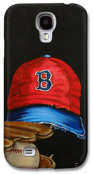 1975 Red Sox Galaxy S4 Case by Susan Roberts