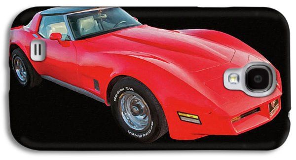 1977 Chevy Corvette T Tops Digital Oil Galaxy S4 Case