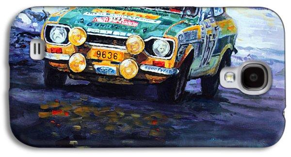 1977 Rallye Monte Carlo Ford Escort Rs 2000 #152 Beauchef Dubois Keller Galaxy S4 Case