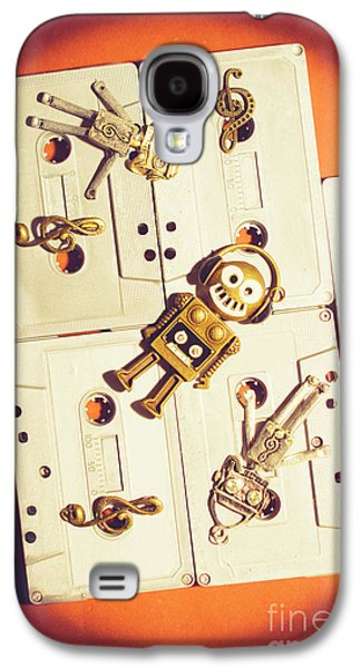 1980s Robot Dancer Galaxy S4 Case
