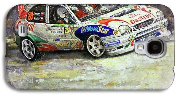 1997-1999 Toyota Carolla Wrc Galaxy S4 Case