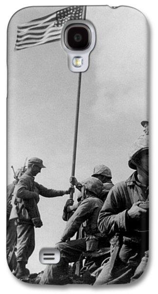 1st Flag Raising On Iwo Jima  Galaxy S4 Case