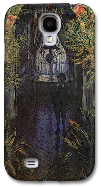 A Corner Of The Apartment Galaxy S4 Case by Claude Monet