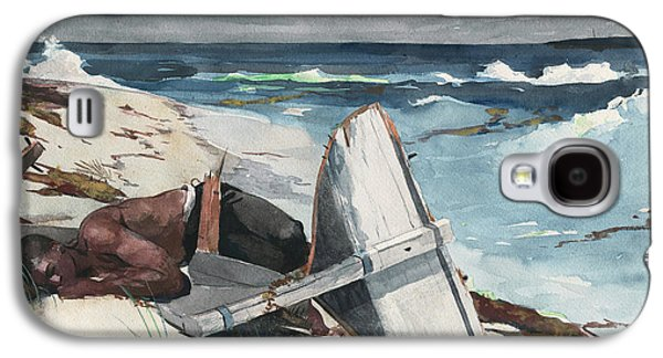 After The Hurricane, Bahamas Galaxy S4 Case by Winslow Homer