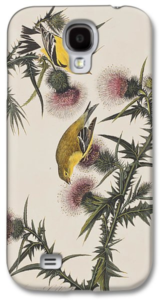 American Goldfinch Galaxy S4 Case by John James Audubon