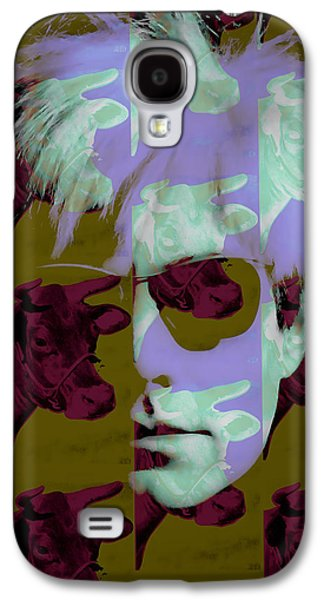 Andy Warhol Collection Galaxy S4 Case by Marvin Blaine
