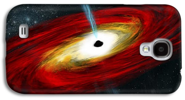 Artists Depiction Of A Black Hole Galaxy S4 Case