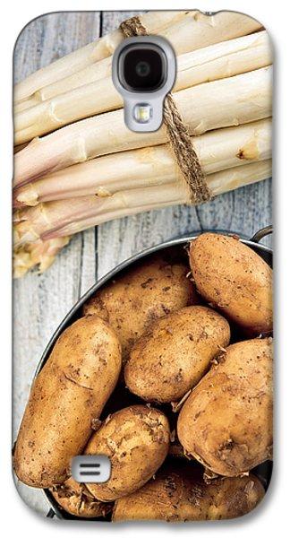 Potato Galaxy S4 Case - Asparagus by Nailia Schwarz
