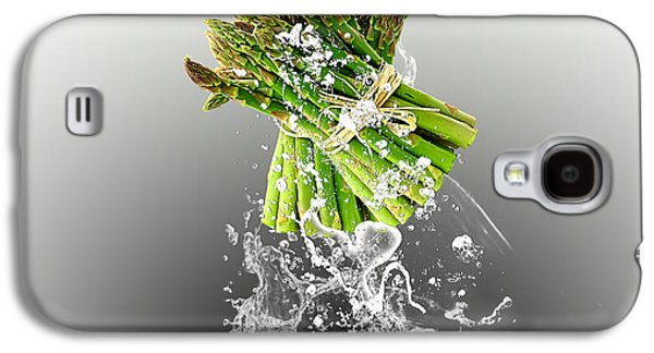 Asparagus Splash Galaxy S4 Case