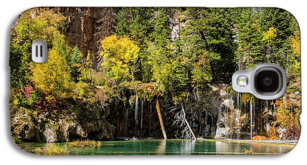Autumn At Hanging Lake Waterfall - Glenwood Canyon Colorado Galaxy S4 Case