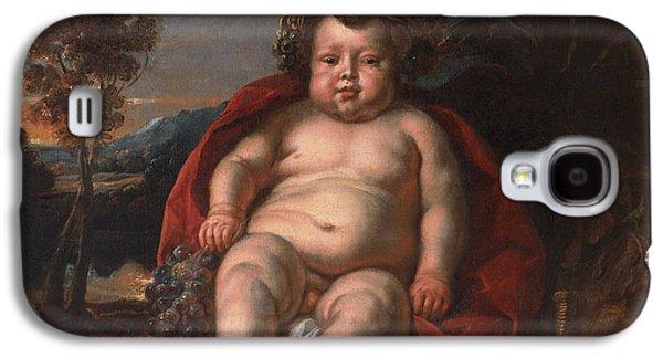 Bacchus As A Child Galaxy S4 Case by Jacob Jordaens