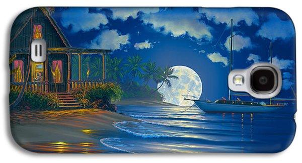 South Seas Paradise Galaxy S4 Case