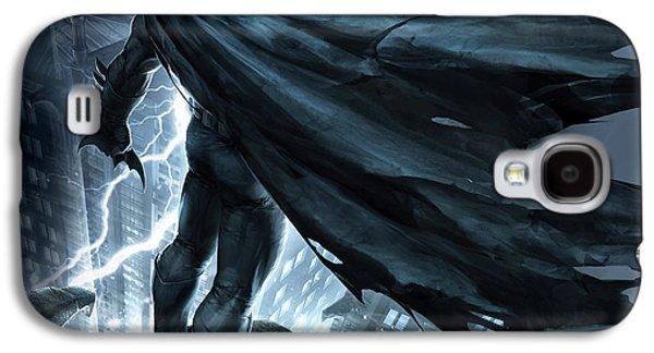 Batman The Dark Knight Returns 2012 Galaxy S4 Case by Unknown