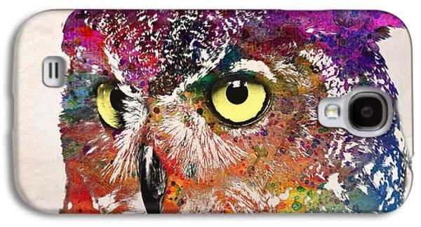 Birds Galaxy S4 Case by Mark Ashkenazi