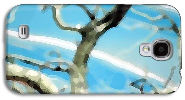 Blue Sky Galaxy S4 Case