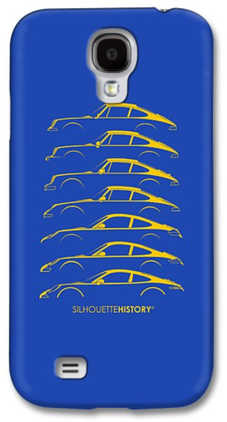 Boxer Sports Car Silhouettehistory Galaxy S4 Case