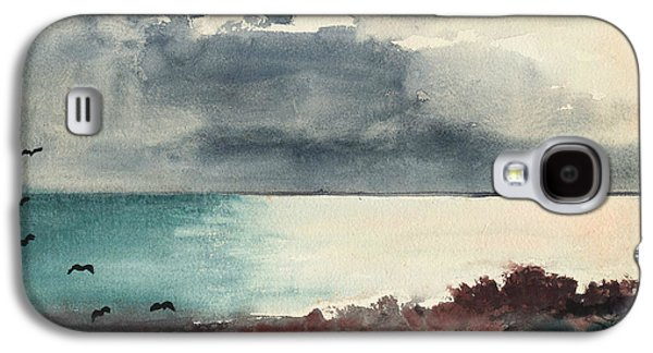 Breaking Storm Coast Of Maine Galaxy S4 Case by Winslow Homer