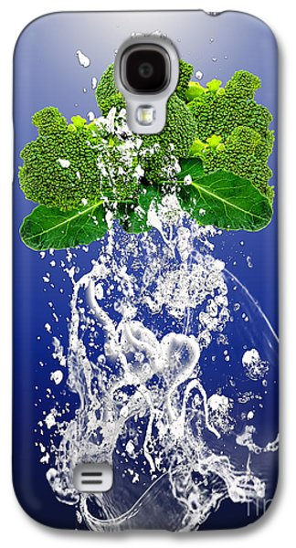 Broccoli Splash Galaxy S4 Case by Marvin Blaine