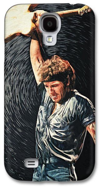Bruce Springsteen Galaxy S4 Case by Taylan Apukovska