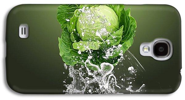Cabbage Splash Galaxy S4 Case by Marvin Blaine
