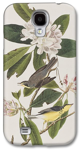 Warbler Galaxy S4 Case - Canada Warbler by John James Audubon