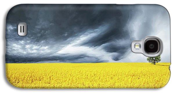 Canola Field Galaxy S4 Case