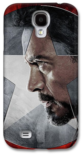 Captain America Civil War 2016 Galaxy S4 Case